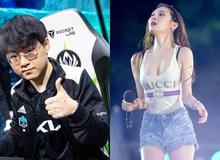 """Trước thềm đại chiến FPX, DK nhận siêu buff từ """"fan nữ sexy nhất làng LMHT"""" Sunmi"""