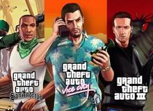 Bộ 3 game GTA Remastered sẽ không phát hành trên Steam