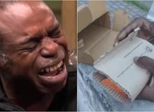 Ham iPhone 12 giảm giá trên sàn thương mại điện tử nổi tiếng, chàng trai khóc nấc khi nhận được hàng