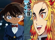 Kimetsu No Yaiba chạm mốc doanh thu khủng, Conan sánh ngang Naruto khi chạm cột mốc lịch sử này