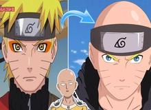 """Chết cười khi thấy các nhân vật anime nổi tiếng bị """"hói đầu"""" giống Saitama trong One Punch Man"""