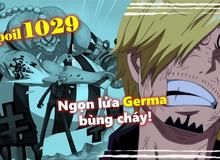 "Spoil nhanh One Piece chap 1029: Sanji bối rối ""rút lui"", Killer hạ gục thầy bói Hawkins"