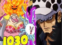 Spoil nhanh One Piece chap 1030: Kid và Law thức tỉnh năng lực, Kanjuro và Kinemon đều còn sống