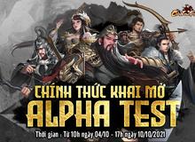 Game SLG Chiến Vương Tam Quốc chính thức mở cửa Alpha Test đón game thủ Việt vào hôm nay 04/10