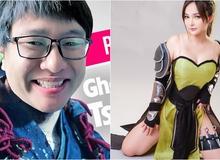 """Hot girl xuất hiện cùng Dũng CT khi livestream Kiếm Thế ADNX Mobile, khiến CĐM """"chảy máu mũi"""" là ai?"""