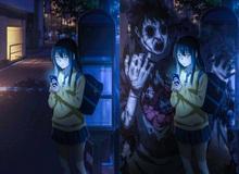"""Anime Mieruko-chan lên sóng tập đầu, kinh dị thì ít mà """"ngực khủng"""" với hình ảnh """"nhạy cảm"""" thì nhiều"""