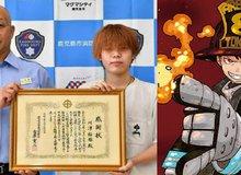 Vận dụng kinh nghiệm xem anime, chàng trai 18 tuổi chặn đứng cơn hỏa hoạn và cứu cụ bà 70 tuổi