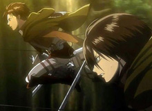Levi và 6 thành viên của gia tộc Ackerman đã xuất hiện trong Attack on Titan