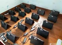 """""""Nông dân"""" Trung Quốc bắt tay với nhà phân phối để gom hàng trăm chiếc laptop RTX 3060 về đào coin"""