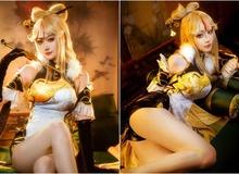 Ngây ngất với bộ cosplay nàng Ningguang trong vũ trụ Genshin Impact