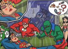 """""""Các siêu anh hùng làm gì khi rảnh rỗi?"""", câu trả lời sẽ khiến các fan cười ngặt nghẽo"""