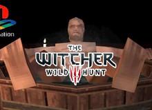 Nhà phát triển biến bom tấn The Witcher 3 thành phiên bản PS1 với đồ họa pixel xấu xí