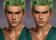 Các nhân vật anime/manga khi được vẽ lại theo phong cách tả thực, đẹp trai, xinh gái ăn đứt bản gốc
