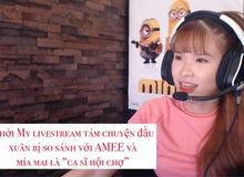 Vừa khai máy livestream đầu năm, streamer Khởi My đã bị anti fan ném đá không thương tiếc, lý do đưa ra gây bất ngờ