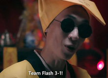 """Nhiều lần bị mắng """"vuốt mặt không kịp"""", Huy Popper vẫn mạnh dạn tiên tri kết quả bất ngờ trận ra quân của Team Flash"""