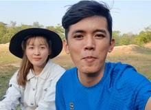 """Sang Vlog khiến fan ngỡ ngàng khi bất ngờ lấy vợ, xúc động chia sẻ """"Nhà anh nghèo, nhà em cũng chẳng cao sang"""""""