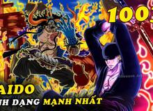 Spoil nhanh One Piece 1003: Zoro chém Kaido bị thương, Tứ Hoàng hoá thành dạng nửa người nửa thú