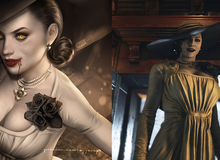 """Capcom hé lộ chiều cao """"không tưởng"""" của nhân vật Lady Dimitrescu"""