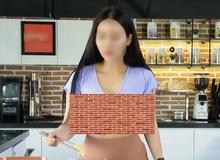 Dân mạng 'ném đá' kịch liệt clip cô gái trẻ thả rông vòng 1 dạy nấu ăn trên YouTube