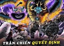 """One Piece: Soi những chi tiết thú vị trong chap 1002, Pandaman xuất hiện, Big Mom hoá thân """"thần sấm"""" (P.1)"""