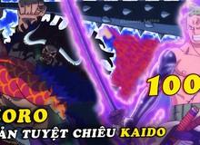 One Piece: Soi những chi tiết thú vị trong chap 1002, Zoro tái hiện lại tuyệt chiêu của Ryuma dùng để chém rồng năm xưa (P.2)
