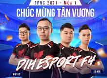 Giải đấu FFO4 danh giá FNVC 2021 Mùa 1 khép lại với sự vươn lên của lớp trẻ và cái kết viên mãn cho nhà Đương Kim Vô Địch