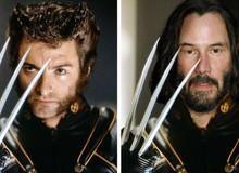 """Bất ngờ trước hình ảnh siêu sao """"John Wick"""" Keanu Reeves thủ vai các siêu anh hùng Marvel và DC"""