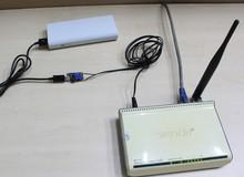 Không may mất điện vẫn có thể dùng Wifi phà phà: Chỉ cần sạc dự phòng và 30 nghìn đồng