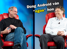 """Tỷ phú Bill Gates tiết lộ """"thích dùng Android hơn iPhone"""""""