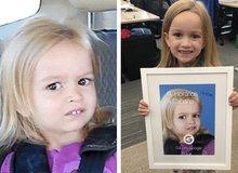 """Chloe, cô bé """"chúa hề"""" meme mặt đơ năm xưa giờ ra sao?"""