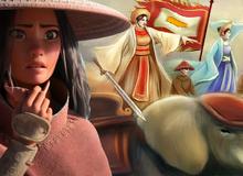 Nàng công chúa Disney gốc Việt đang gây bão Hollywood được lấy cảm hứng từ Hai Bà Trưng của Việt Nam