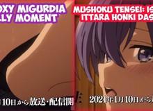 """Fan anime Attack on Titan tuyên bố: """"Sở dĩ Mushoku Tensei vươn lên số 1 là vì mấy hình ảnh 18+ mà thôi"""""""