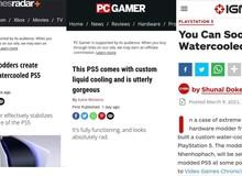 """PS5 """"độ"""" tản nhiệt nước của modder Việt được cộng đồng game thế giới khen ngợi"""