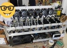 Để đạt công lực đào coin tối đa, nông dân đầu tư nguyên dàn tản nhiệt nước custom cho 10 con trâu cày NVIDIA RTX 3090