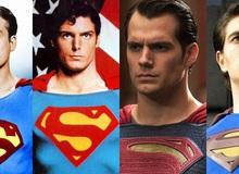 """Ngất ngây nhan sắc loạt Superman """"cực phẩm"""" suốt 9 thập kỷ, Henry Cavill không hề """"mlem"""" nhất!"""