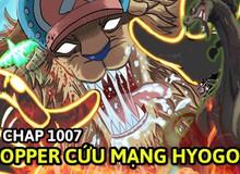 """Soi One Piece chap 1007: Chopper chứng tỏ bản lĩnh """"chủ tịch"""" trái ngược với sự lạnh lùng, tàn nhẫn của Queen"""