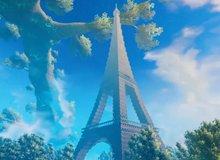 Game thủ tái hiện tòa tháp Eiffel vô cùng đồ sộ, tráng lệ trong Valheim