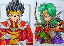 """Dàn nhân vật chính Dragon Ball bất ngờ hóa hiệp sĩ Trung Cổ """"ngầu đét"""" ai nhìn cũng mê"""