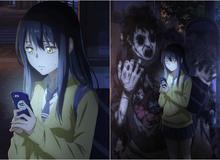 Manga kinh dị Mieruko-chan bất ngờ công bố lên anime, ra mắt cả trailer xem lạnh sống lưng