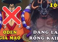 Spoil nhanh One Piece chap 1008: Oden xuất hiện là giả mạo, lộ diện hình dạng bán long của Kaido