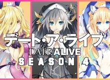 """Anime Date A Live season 4 tung ra trailer đầu tiên, hành trình đi """"tán gái giải cứu thế giới"""" của Shido lại tiếp tục"""