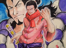 """One Piece: Momonosuke sẽ hóa rồng cùng Luffy đánh bại Kaido, đây là lý do mà Oden đặt tên cho con mình là """"vô địch"""""""