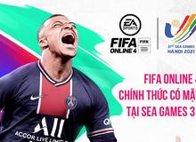 """FIFA Online 4 chính thức có mặt tại SEA GAMES 31, game thủ rục rịch chuẩn bị đi """"cống hiến cho Tổ quốc"""""""