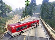 """Xuất hiện thánh lái xe trong GTA V: Dùng xe buýt đổ đèo, drift điên cuồng với vận tốc 180km/h mà vẫn """"nuốt nuột"""""""