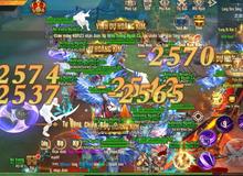 """Vương Thần Mobile chính thức ra mắt, đông """"kẹt cứng"""" map tân thủ: Tặng GiftCode kèm tượng vàng 9999 đua TOP, càng chơi càng lên VIP"""
