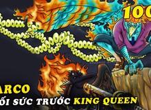 Spoil đầy đủ One Piece chap 1006: Marco đổ máu, chuẩn bị một mình chống 3 thành viên mạnh nhất băng Tứ Hoàng