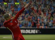 """SIÊU HOT: Fernando Torres cơ bắp cuồn cuộn tái xuất FIFA Online 4 để """"bán hành"""" cho Vidic, Ferdinand"""