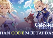 Nhanh tay nhận ngay 3 code mới Genshin Impact, trị giá hàng trăm nguyên thạch