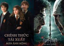 Harry Potter chính thức tái ngộ khán giả Việt trên màn ảnh rộng sau 10 năm!
