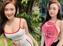 """Hot girl từng được báo Trung đưa tin về vòng 1 """"siêu thực"""", sau một năm đăng ảnh """"thả dáng"""" khiến người xem bất ngờ"""